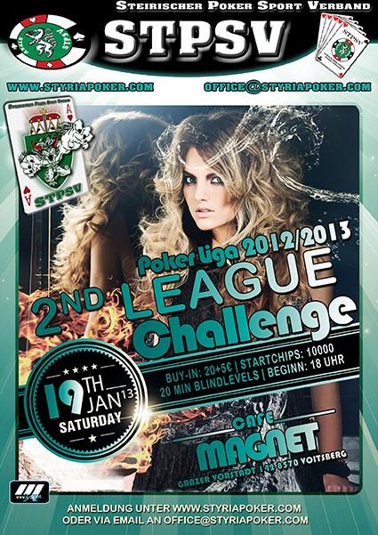 2ND LEAGUE CHALLANGE-POKERLIGA 2012/13